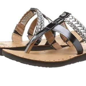 UGG Australia Size 10 AUDRA Leather New Sandals